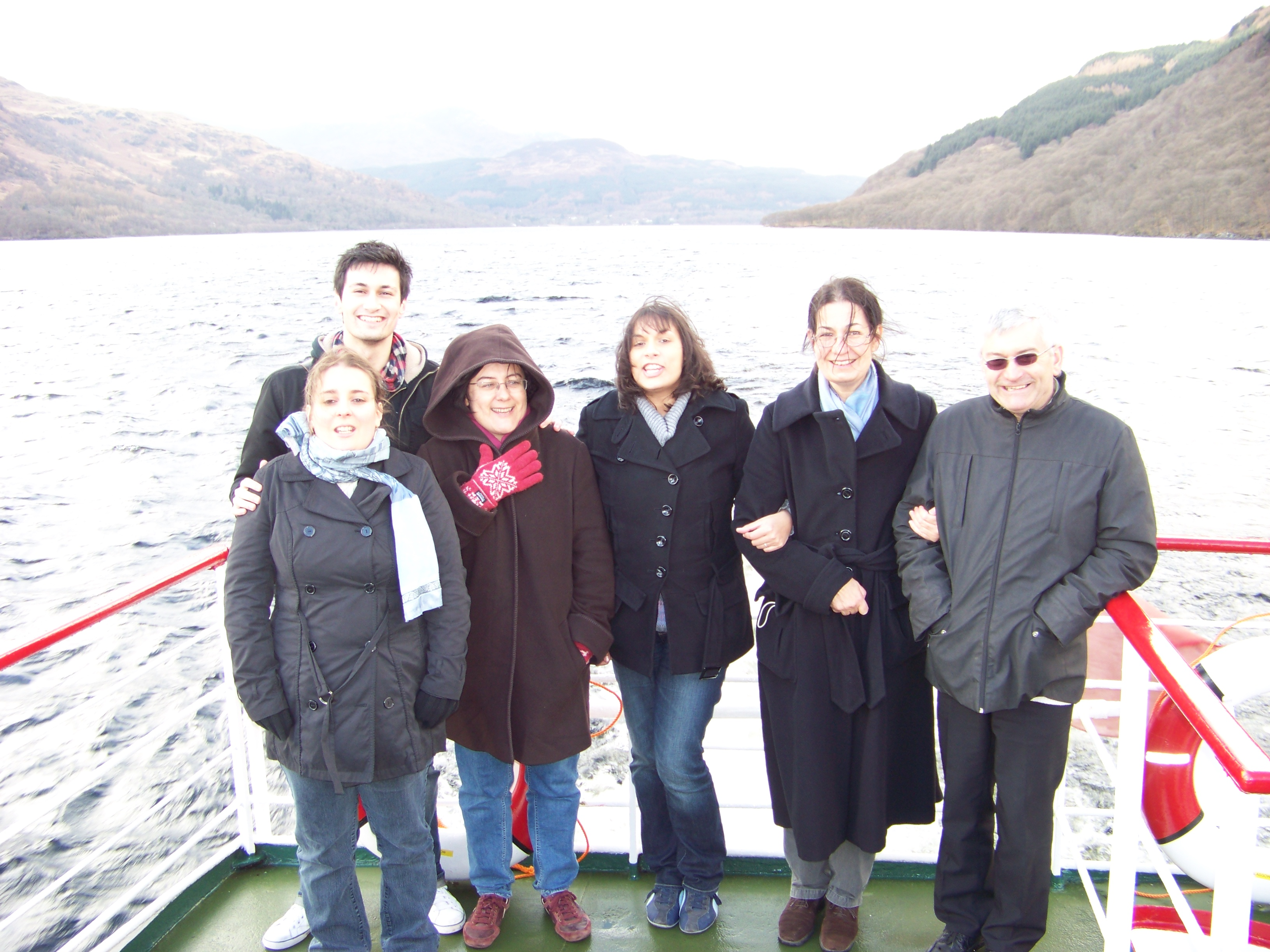Mini cruise on Loch Lomond